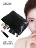 韓國簡約可愛少女ins隨身網紅化妝包女小號便攜軟妹手拿化妝品袋