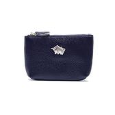 【南紡購物中心】DRAKA 達卡 - 真皮R系列-卡片零錢包-藍