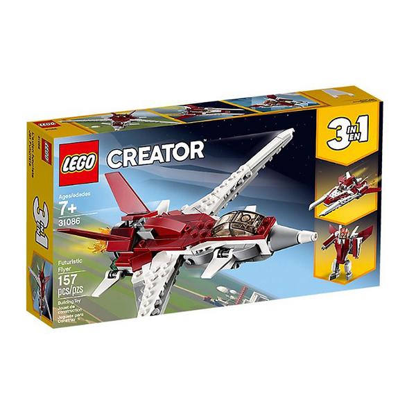 31086【LEGO 樂高積木】創意系列 Creator 未來飛行器 Futuristic Flyer(157pcs)