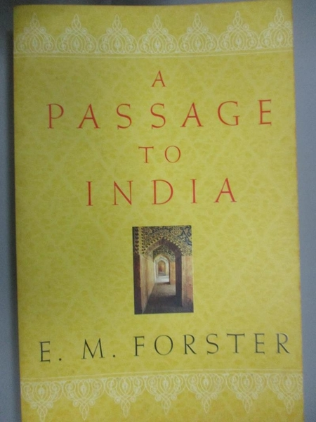 【書寶二手書T1/原文小說_HNO】A Passage to India_Forster, E. M.