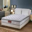 24期0利率 華格納607高迴彈三線獨立筒床墊雙人加大6*6.2尺