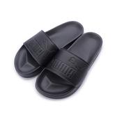 PUMA LEADCAT 套式運動拖鞋 全黑 360263-10 男鞋