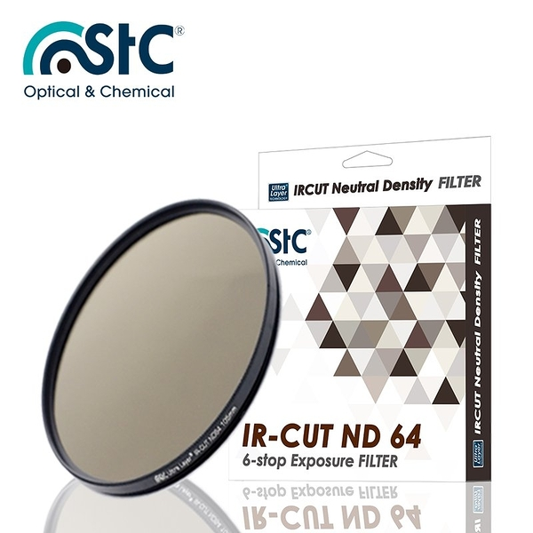 【EC數位】 STC IR-CUT 6-stop ND64 Filter 82mm 零色偏 ND64 減光鏡