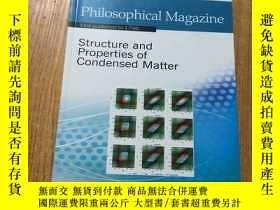 二手書博民逛書店Philosophical罕見Magazine 哲學雜誌 201