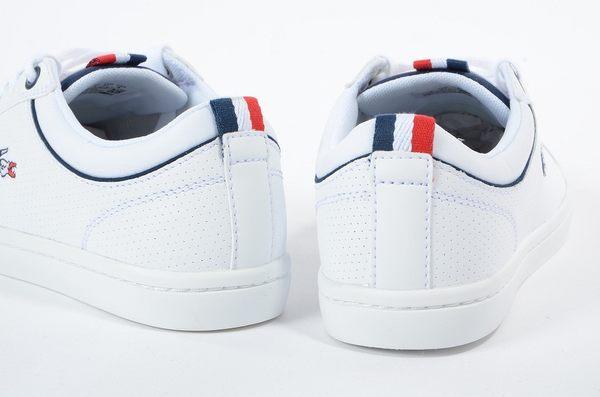 LACOSTE 女鞋 白色 STRAIGHTSET SP 317 1 QSP 皮革 - 鞋款( 34CAW0083-001) 18B