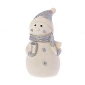 聖誕帽雪人LED擺飾 23cm