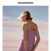 BANANAUNDER蕉下防曬帽女防紫外線夏季沙灘遮陽帽戶外空頂太陽帽 小明同學
