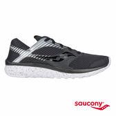 SAUCONY KINETA RELAY REFLEX 反光運動休閒鞋-黑x銀