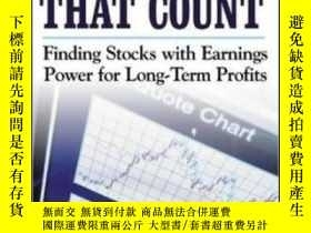 二手書博民逛書店It s罕見Earnings That Count: Findi