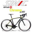 SAXSO SINIC Chroma 高端105全碳纖炫彩公路車(黑/螢光黃)