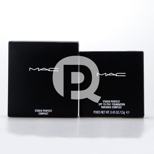 M.A.C MAC 超持妝無瑕粉餅(蕊心+粉撲+粉餅盒) 13g (台灣專櫃正貨)【芭樂雞】