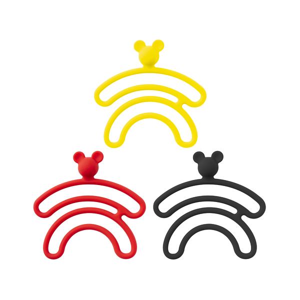 BONE - 雙環綁-收線扣米奇款 (超值組一組3入)