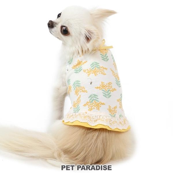 【PET PARADISE 寵物精品】 PP 含羞草滿版可愛背心 (DSS/SS/S) 寵物衣服