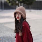 帽子女網紅款韓版潮針織帽秋冬毛線貝雷漁夫帽保暖護耳雷鋒帽日系