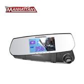 【旭益汽車百貨】 MANHATTAN RS10G  後視鏡高畫質行車紀錄器+ 16G記憶卡