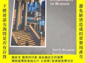 二手書博民逛書店英文原版罕見THE LEGAL ENVIRONMENT OF BUSINESS商業法律環境Y10244 DOU