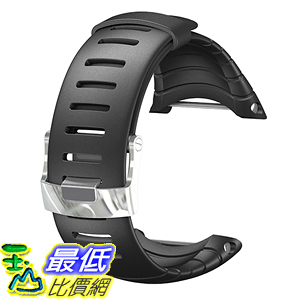 [美國直購] Suunto 錶帶 SS013336000 Core Wrist-Top Computer Watch Replacement Strap (Black Elastomer)