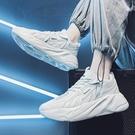 【358百貨】 男鞋2021年新款春季潮流百搭休閑跑步運動青少年網紅舞步老爹潮鞋