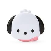 小禮堂 帕恰狗 大臉造型鏡梳組 (白色款) 4550337-97960