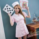 護士服 短袖洋裝護士服cosplay服裝...