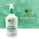 SSUNE 綠茶樹洗髮精 1000ml/洗髮乳/清爽/無負擔/舒緩頭皮/綠茶樹精油