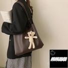 包包女大容量包包潮時尚托特包學生上課單肩包百搭斜背包側背包品牌【邦邦男裝】