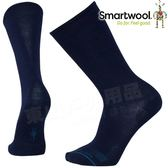 Smartwool SW960-108深藍 男錨線型輕薄中長襪 美麗諾羊毛襪/機能排汗襪/戶外運動襪/雪襪/紳士襪