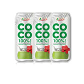 椰活100%純椰子水500ml*3【愛買】