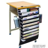 課桌神器學生掛書袋課桌收納書本高中生書立掛架書掛袋多功能