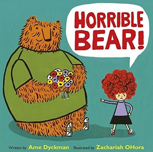 【麥克書店】HORRIBLE BEAR /英文繪本 《主題:情緒管理》