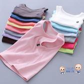 運動背心 兒童棉質背心男 夏季 男童女童寶寶小孩打底內衣無袖小背心童裝夏 多色