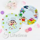 ﹝蠟筆小新塑膠圓盤﹞正版 塑膠餐盤 盤子 美耐皿盤 圓盤 蠟筆小新〖LifeTime一生流行館〗