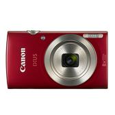 Canon IXUS185時尚隨身機 - 紅【愛買】