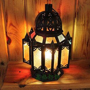 鐵藝摩洛哥風格別墅燈