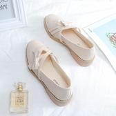 瑪麗珍鞋女鞋春季2020新款單鞋夏季百搭春秋中跟粗跟小皮鞋淺口日系瑪麗珍 JUST M