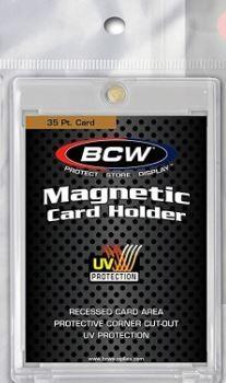 『高雄龐奇桌遊』 BCW 壓克力磁吸卡磚 磁性卡磚 透明 35 Pt 正版桌上遊戲專賣店