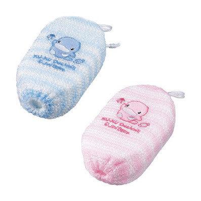 【奇買親子購物網】酷咕鴨KU.KU. 條紋沐浴球(藍色/粉色)