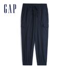 Gap女裝 輕盈質感抽繩鬆緊休閒褲 54...
