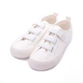 KANGOL 黏帶餅乾鞋 白 6952200300 女鞋 休閒│後底│帆布│小白鞋