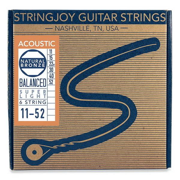 唐尼樂器︵美國 手工品牌 Stringjoy 10/11/12/13 Balanced 均衡張力 磷青銅 民謠吉他弦