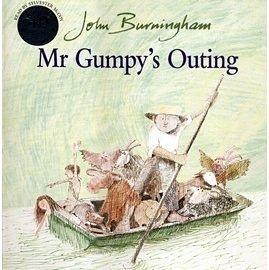 『童書久久書單』『繪本123‧吳敏蘭老師書單』-- MR GUMPY OUTING /英文繪本附CD
