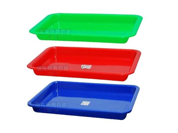 菜盤 300長方皿 塑膠盆 公文籃 平籃 洗菜籃 塑膠籃 拜拜盤 長方盤 方盆 深皿 MIT【塔克】