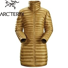 【ARC'TERYX始祖鳥 Yola Coat 女 羅望紫褐 羽絨衣】14588/羽絨衣