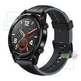 華為 Huawei Watch GT ◤特賣,刷卡◢ 黑色 曜石黑矽膠錶帶