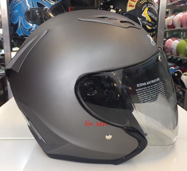 M2R安全帽,J5,素/消光灰