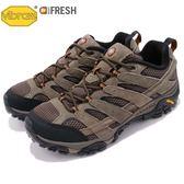 Merrell 戶外鞋 Moab 2 Vent 咖啡 黑 透氣 越野 休閒鞋 運動鞋 男鞋【PUMP306】 ML06011