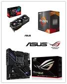 (RX6700系列)華碩STRIX-RX6700XT-O12G-GAMING+AMD R9 5950X+華碩CROSSHAIR VIII DARK HERO(X570)【刷卡含稅價】