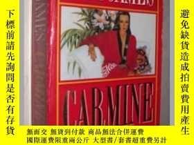 二手書博民逛書店英文原版書罕見Carmine [Paperback] Judi