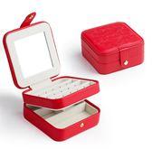 黑五好物節 便攜式首飾盒迷你旅行公主歐式韓國小號飾品收納盒 森活雜貨
