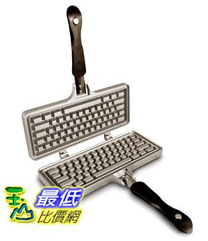 [105美國直購] The Keyboard Waffle Iron 鍵盤造型 鬆餅烤盤